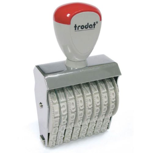 Trodat Classic Line 15910 Numberer - This stamp features 10 adjustable bands each with a character size of 9mm perfect for use at a large event.