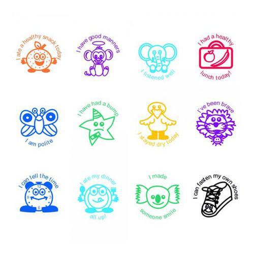 Trodat Classmates Teachers Stamps Set -