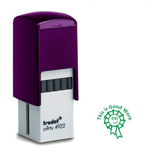 Trodat Teachers Stamp - This is good work - Green