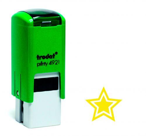 Trodat Teachers Stamp - Star - Gold