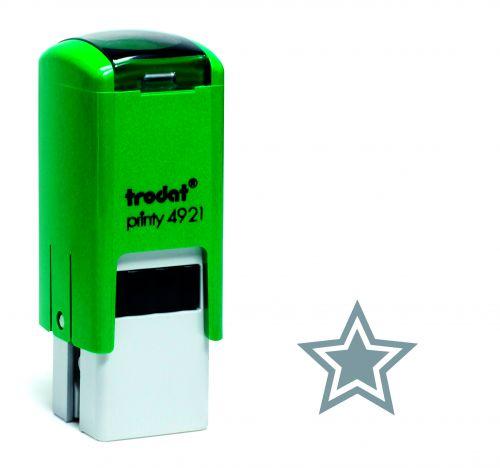 Trodat Teachers Stamp - Star - Silver