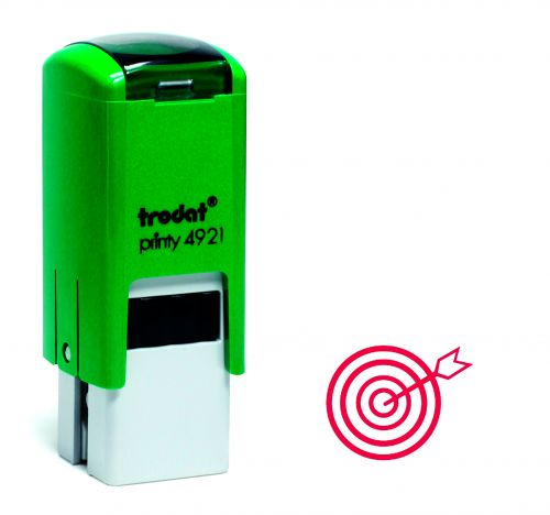 Trodat Teachers Stamp - Target - Red