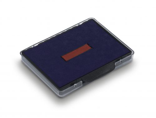 Trodat 6/58 Replacement Ink Pad Red/Blue Code