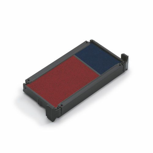 Trodat Replacement Ink Pads 6/4912/2 Red/Blue PK2