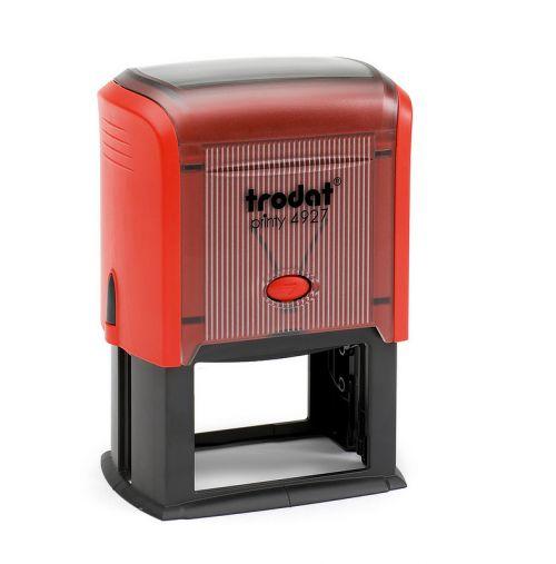 Trodat MCI Printy 4927 Self Inking Custom Stamp. Imprint Area 58 x 37 mm - 9 lines maximum