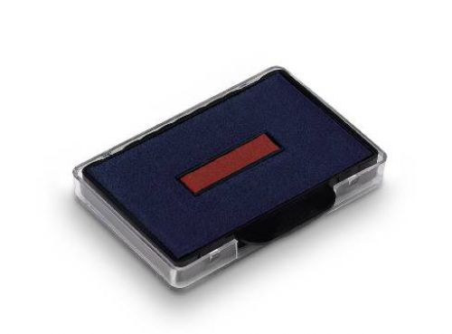 Trodat 6/56/2 Replacement Ink Pad For Professional 5460 Red/Blue Code