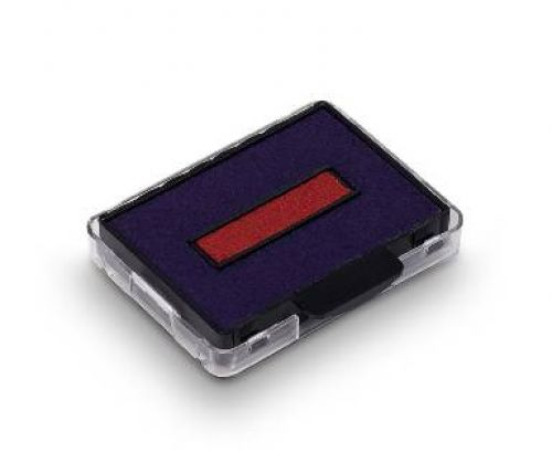 Trodat 6/50/2 Replacement Ink Pad For Professional 5430 Red/Blue Code