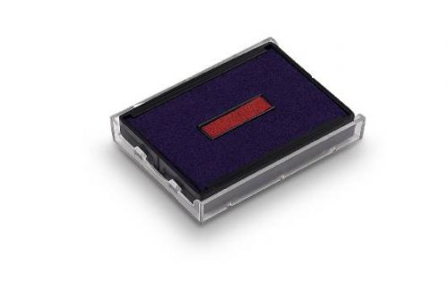 Trodat Printy 4929 Replacement Ink Pad - Blue / Red (Pack of 2)