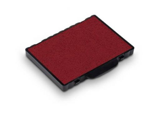 Trodat 6/58 Replacement Ink Pad For Professional 5208 And 5480 - Red (Pack of 2)