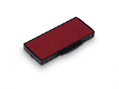 Trodat 6/55 Replacement Ink Pad For Professional 5205 - Red (Pack of 2)