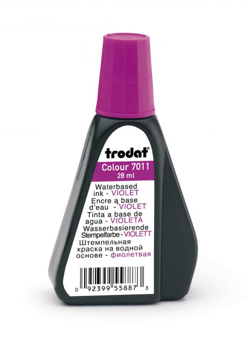 Trodat Stamp Pad Ink 28ml Violet