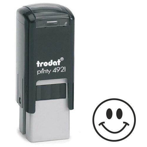 Trodat Teachers Stamp - Smiley Face - Violet