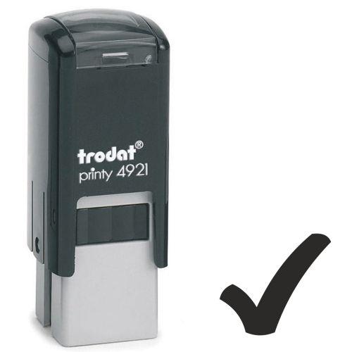 Trodat Teachers Stamp - Tick - Green