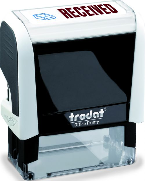 Trodat Office Printy 4912 White RECEIVED