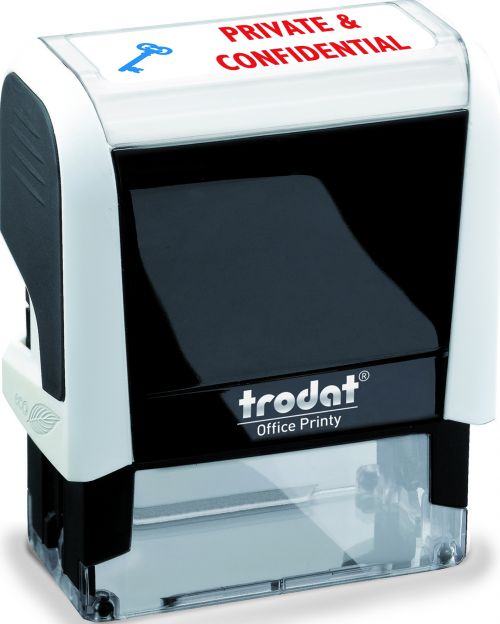Trodat Office Printy 4 Word Stamp PRIVATE & CONFIDENTIAL 43360