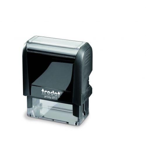 Trodat Printy 4911 Self Inking Custom Stamp. Imprint Area 37 x 12 mm - 3 lines maximum