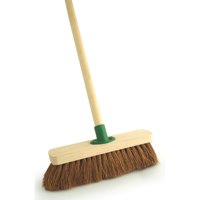 Bentley 300mm Soft Coco Broom With Bracket And 1.2m Handle O2O/F.01/BKT/C4