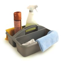 Bentley 2 Compartment Cleaning Caddy Silver O2O/CADDY.01