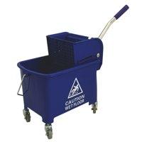 Bentley Mobile Mop Bucket 20 Litre Blue Ref O2O/MB.20/B Each