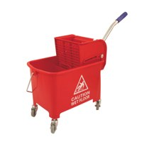 Bentley Mobile Mop Bucket 20 Litre Red Ref O2O/MB.20/R Each