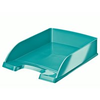 Leitz Wow Letter Tray Ice Blue 52260051