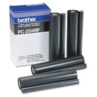 Brother PC204 Fax Ribbon Refill Ref PC204RF Pack 4