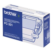 Brother Fax Cartridge And 1 Thermal Ribbon For Fax 1030 Ref PC201 Each