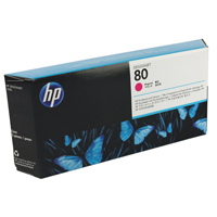 HP No.80 Printhead and Cleaner Magenta Ref C4822A Each