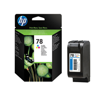 HP Inkjet Cartridge No.78 Tri-colour Ref C6578D Each
