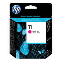 HP No.11 Inkjet Printhead Cartridge Long-life Magenta Ref C4812AE Each