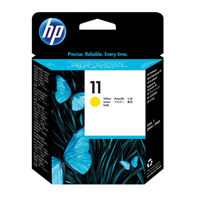 HP No.11 Inkjet Printhead Cartridge Long-life Yellow Ref C4813AE Each
