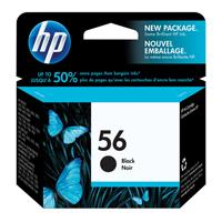 HP Inkjet Cartridge No.56 Black Ref C6656AE Each