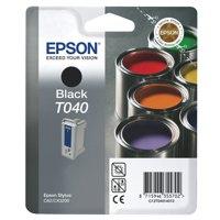 Epson T040 Black Inkjet Cartridge Ref C13T04014010 Each