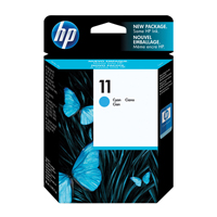 HP No.11 Inkjet Cartridge 28ml Cyan Ref C4836AE Each