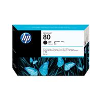 HP No.80 Inkjet Cartridge 350ml Black Ref C4871AE Each