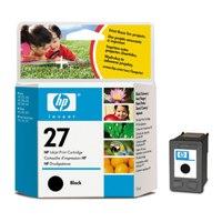 HP Inkjet Cartridge No.27 Black Ref C8727AE Each