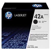 HP Laser Toner Cartridge Black Ref Q5942A Each