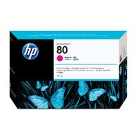 HP No.80 Dye Inkjet Cartridge 175ml Magenta Ref C4874A Each