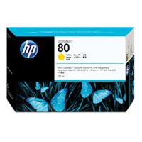 HP No.80 Inkjet Cartridge Yellow 175ml Ref C4873A Each