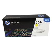 HP Laser Toner Cartridge Yellow Ref Q2672A Each