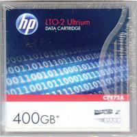 HP LTO Ultrium Data Tape Cartridge 400GB 609m Code C7972A Each