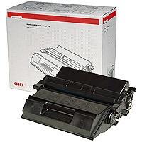 Oki B6200 Laser Toner Cartridge Black Ref 9004078 Each