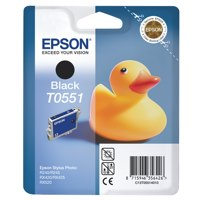 Epson T0551 Black Inkjet Cartridge C13T05514010