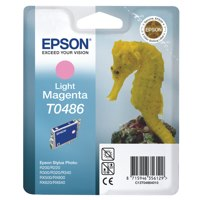 Epson R200 Inkjet Cartridge Light Magenta Ref C13T048640 Each