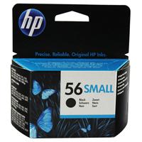 HP No.56 Small Inkjet Cartridge Black Ref C6656GE Each