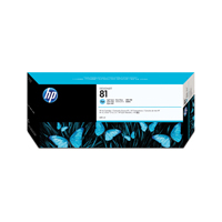 HP No.81 Inkjet Cartridge 680ml Light Cyan Code C4934A Each