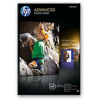 HP Advanced Glossy Photo Paper 250gsm 10x15cm Pack 100 Q8692A