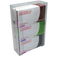 Shield Triple Glove Dispenser Clear Pk 2 Ge/Tgd