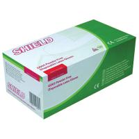 Shield Powder-Free Natural Latex Gloves Large (Pack of 100) GD05