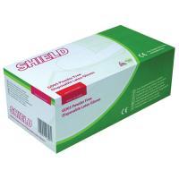 Shield Powder-Free Natural Latex Gloves Medium (Pack of 100) GD05